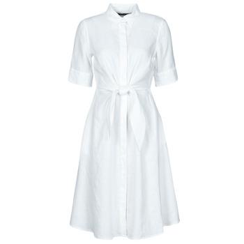 Textil Ženy Krátké šaty Lauren Ralph Lauren WAKANA Bílá