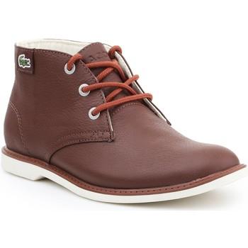 Boty Ženy Kotníkové boty Lacoste Sherbrook HI SB SPJ 7-30SPJ101177T brown
