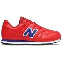 Boty Děti Nízké tenisky New Balance 373 Červené