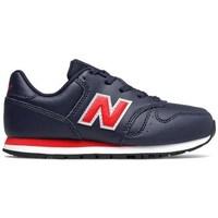 Boty Chlapecké Nízké tenisky New Balance 373 Černé, Červené