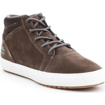 Boty Ženy Kotníkové boty Lacoste Ampthill Chukka 417 1 Caw Šedé