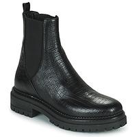 Boty Ženy Kotníkové boty Minelli LAMINA Černá
