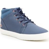 Boty Ženy Kotníkové boty Lacoste Ampthill Modré