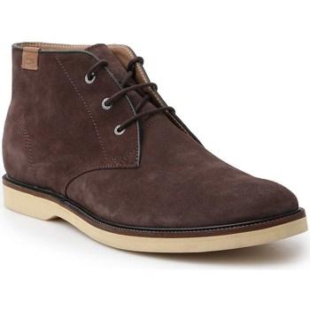 Boty Muži Kotníkové boty Lacoste Sherbrooke HI Hnědé
