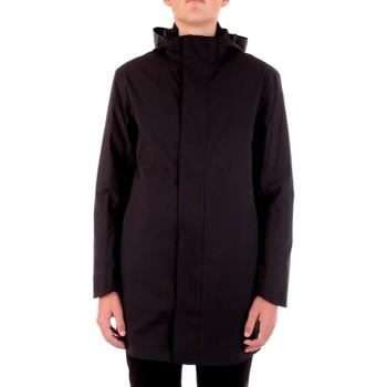 Textil Muži Parky Selected 16074011 Černá