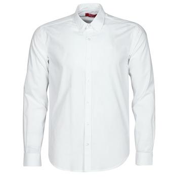 Textil Muži Košile s dlouhymi rukávy BOTD OMAN Bílá