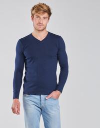 Textil Muži Svetry BOTD OOMAN Tmavě modrá