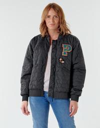 Textil Ženy Bundy Puma BLACK STATION Černá