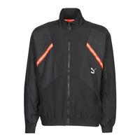 Textil Muži Teplákové bundy Puma WVN JACKET Černá / Červená