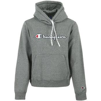 Textil Ženy Mikiny Champion Hooded Sweatshirt Wn's Šedá