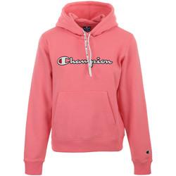 Textil Ženy Mikiny Champion Hooded Sweatshirt Wn's Růžová