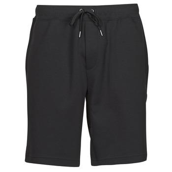 Textil Muži Kraťasy / Bermudy Polo Ralph Lauren SHORT DE JOGGING EN DOUBLE KNIT TECH LOGO PONY PLAYER Černá