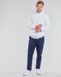 Textil Muži Kapsáčové kalhoty Polo Ralph Lauren PANTALON CHINO PREPSTER AJUSTABLE ELASTIQUE AVEC CORDON INTERIEU Námořnická modř