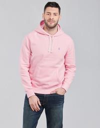Textil Muži Mikiny Polo Ralph Lauren SWEAT A CAPUCHE MOLTONE EN COTON LOGO PONY PLAYER Růžová
