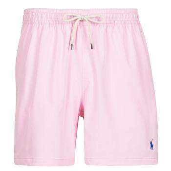 Textil Muži Plavky / Kraťasy Polo Ralph Lauren MAILLOT SHORT DE BAIN EN NYLON RECYCLE, CORDON DE SERRAGE ET POC Růžová