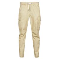 Textil Muži Cargo trousers  Polo Ralph Lauren SHORT PREPSTER AJUSTABLE ELASTIQUE AVEC CORDON INTERIEUR LOGO PO Béžová