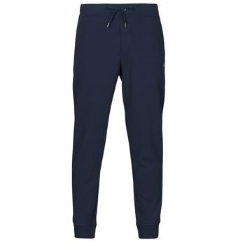 Textil Muži Teplákové kalhoty Polo Ralph Lauren PANTALON DE JOGGING EN DOUBLE KNIT TECH LOGO PONY PLAYER Tmavě modrá