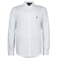 Textil Muži Košile s dlouhymi rukávy Polo Ralph Lauren COPOLO Bílá