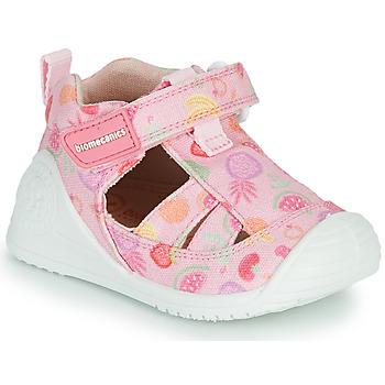 Boty Dívčí Sandály Biomecanics 212212 Růžová