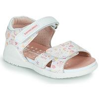 Boty Dívčí Sandály Biomecanics 212165 Bílá