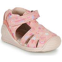 Boty Dívčí Sandály Biomecanics 212107 Růžová