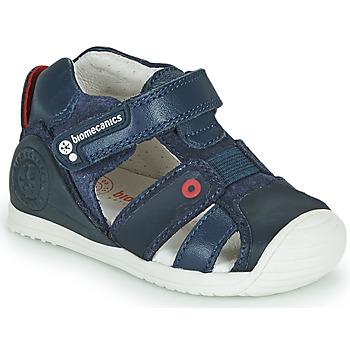 Boty Chlapecké Sandály Biomecanics 212144 Tmavě modrá