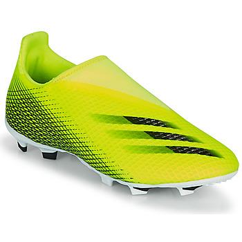 Boty Děti Fotbal adidas Performance X GHOSTED.3 LL FG J Žlutá / Černá