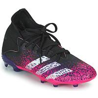 Boty Děti Fotbal adidas Performance PREDATOR FREAK .3 F Černá / Růžová