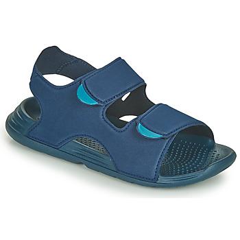 Boty Chlapecké Sandály adidas Performance SWIM SANDAL C Modrá
