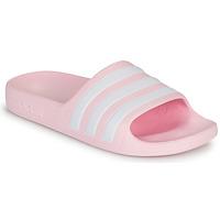 Boty Dívčí Sandály adidas Performance ADILETTE AQUA K Růžová