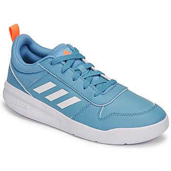 Boty Děti Nízké tenisky adidas Performance TENSAUR K Modrá