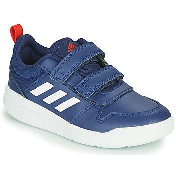 Boty Děti Nízké tenisky adidas Performance TENSAUR C Modrá