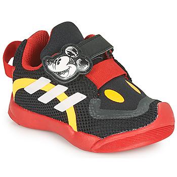 Boty Děti Nízké tenisky adidas Performance ACTIVEPLAY MICKEY I Černá / Červená