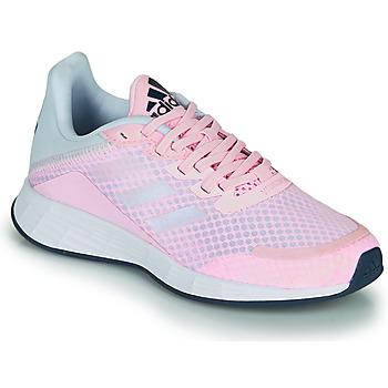 Boty Dívčí Nízké tenisky adidas Performance DURAMO SL K Růžová