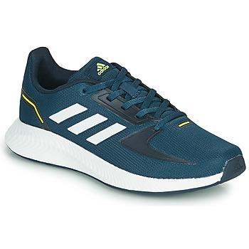 Boty Děti Nízké tenisky adidas Performance RUNFALCON 2.0 K Tmavě modrá / Bílá