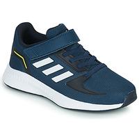 Boty Děti Nízké tenisky adidas Performance RUNFALCON 2.0 C Tmavě modrá / Bílá