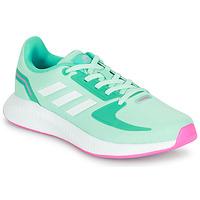 Boty Dívčí Nízké tenisky adidas Performance RUNFALCON 2.0 K Tyrkysová / Růžová