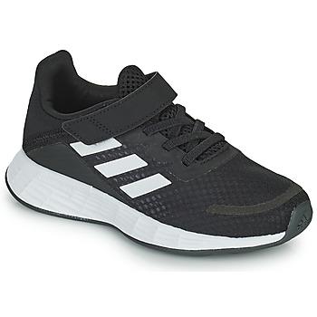 Boty Děti Nízké tenisky adidas Performance DURAMO SL C Černá / Bílá