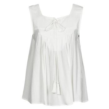 Textil Ženy Tílka / Trička bez rukávů  See U Soon 21111205B Bílá