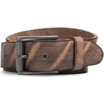 Textilní doplňky Muži Pásky Lois pravá kožená pánská opasek Brown