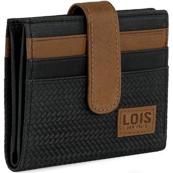 Taška Muži Tašky na dokumenty Lois DAVIDSON Pánská kožená peněženka Černé