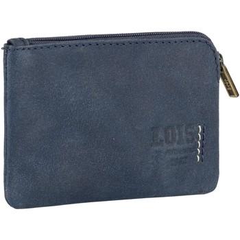 Taška Muži Peněženky Lois Pánská kožená peněženka HEWITT Námořnictvo