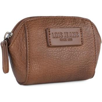 Lois Peněženky CALGARY dámské umělé kožešiny peněženka - Hnědá