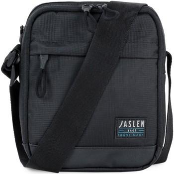 Taška Muži Kabelky s dlouhým popruhem Jaslen REXFORD Malá nastavitelná taška přes rameno pro muže Černé