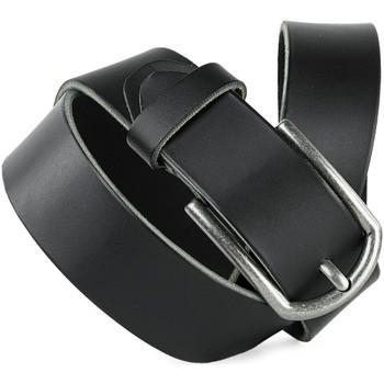 Textilní doplňky Pásky Jaslen CINTURONES Černé