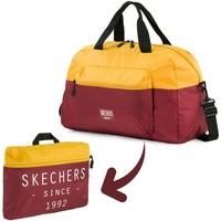 Taška Cestovní tašky Skechers MOVE Integrovaná kapesní skládací gym bag Staré zlato