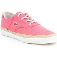 Boty Ženy Espadrilky  Lacoste Glendon Espa 3 SRW 7-27SRW2424124 pink