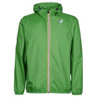 Textil Větrovky K-Way LE VRAI CLAUDE 3.0 Zelená