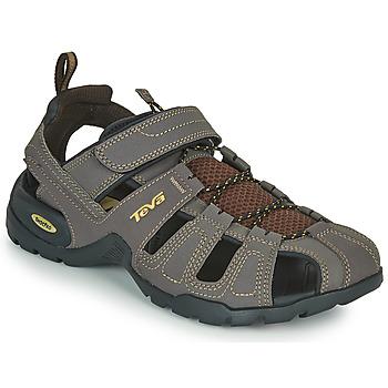 Boty Muži Sportovní sandály Teva FOREBAY Hnědá