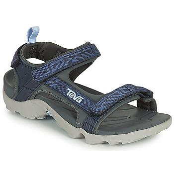 Boty Chlapecké Sandály Teva TANZA Modrá